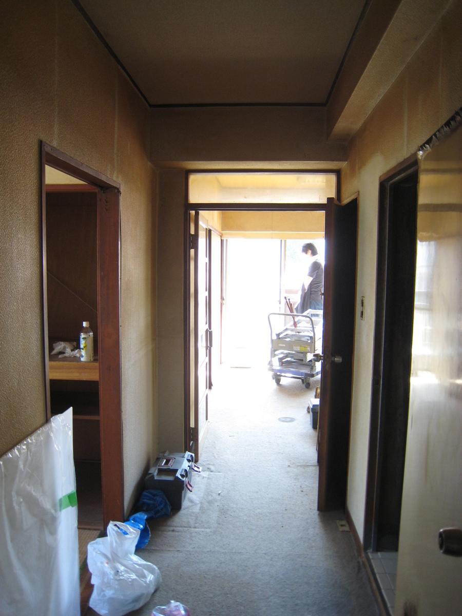 新宿マンション 解体前1