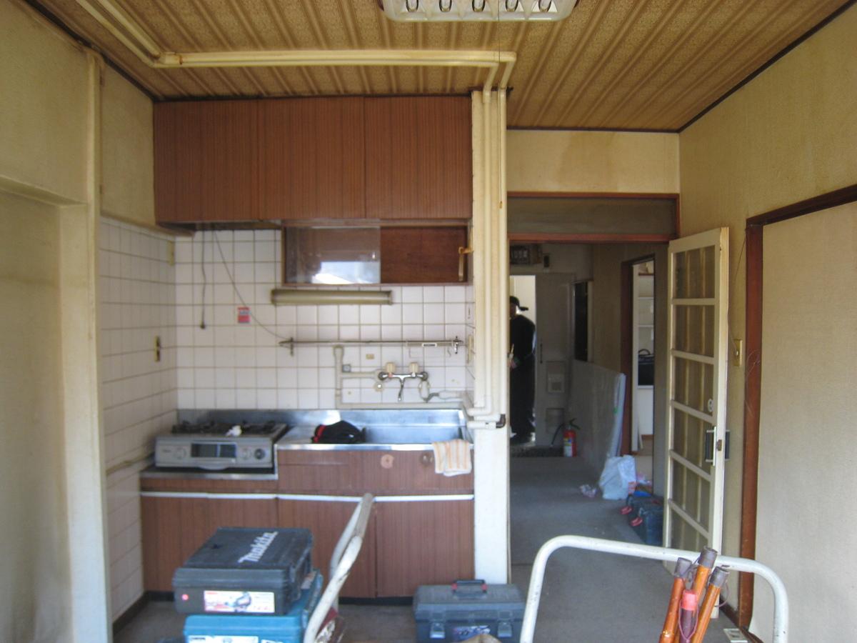 新宿マンション 解体前3