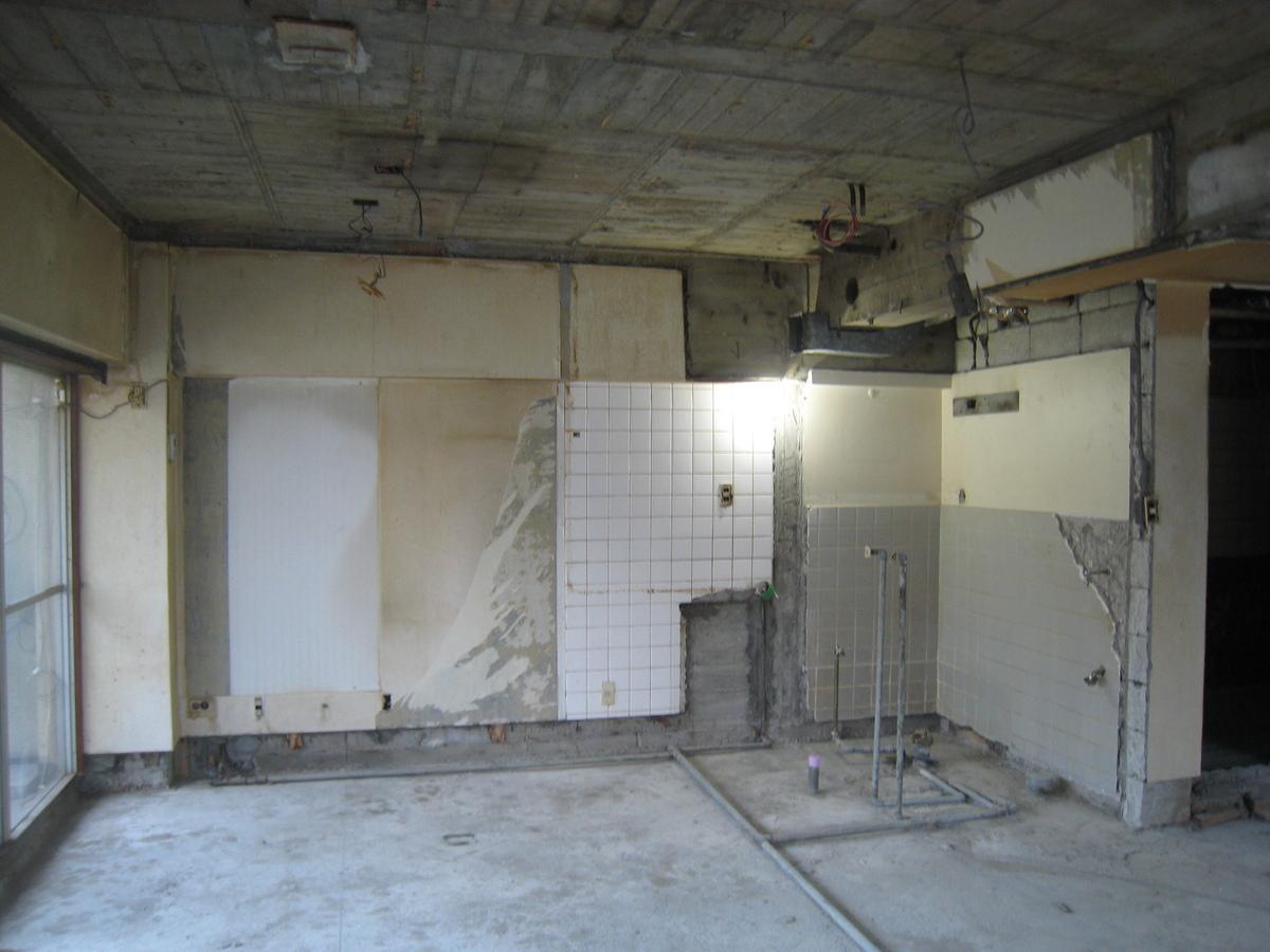 新宿マンション 解体2