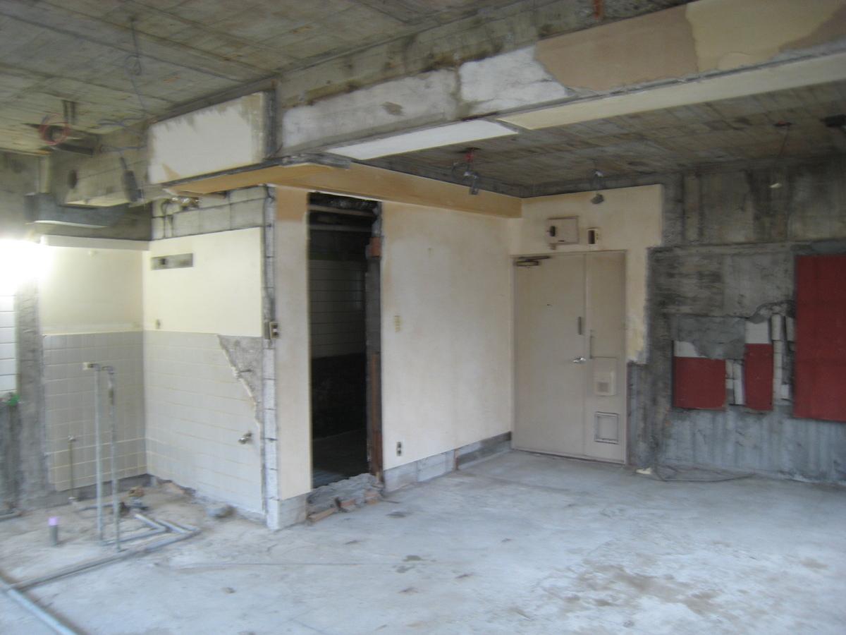 新宿マンション 解体3