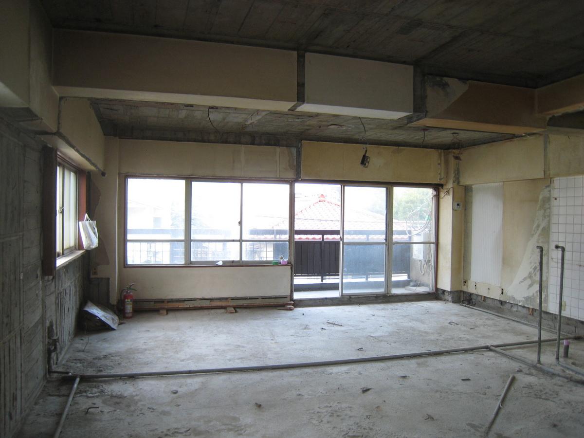 新宿マンション 解体4