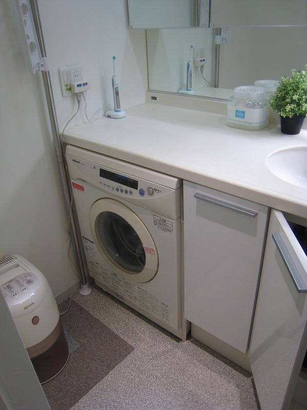 日本橋のマンションのビルトイン洗濯機置き場の改造サムネイル