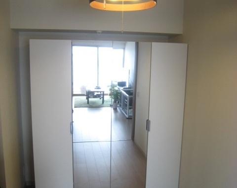 江東区 辰巳のマンションのクローゼットのオーダー家具サムネイル