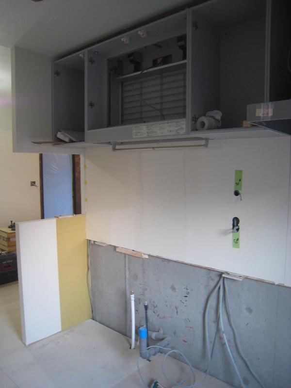 新浦安のマンションでリフォーム工事 キッチン・タイルサムネイル