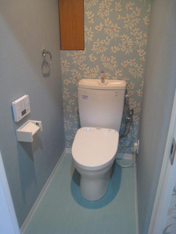 ユニットバス・洗面室周辺・トイレの工事も完了しましたサムネイル