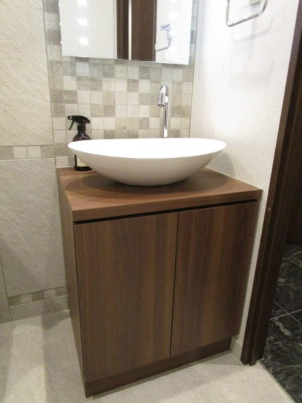 トイレの手洗い器の交換サムネイル